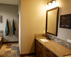 Residential Bathroom Project by House of Color in Bismarck