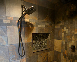 Residential Shower Project by House of Color in Bismarck