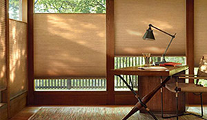 Elegant window fashions by Hunter Douglas
